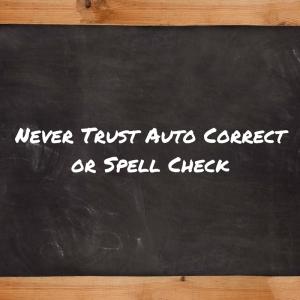 Auto correct